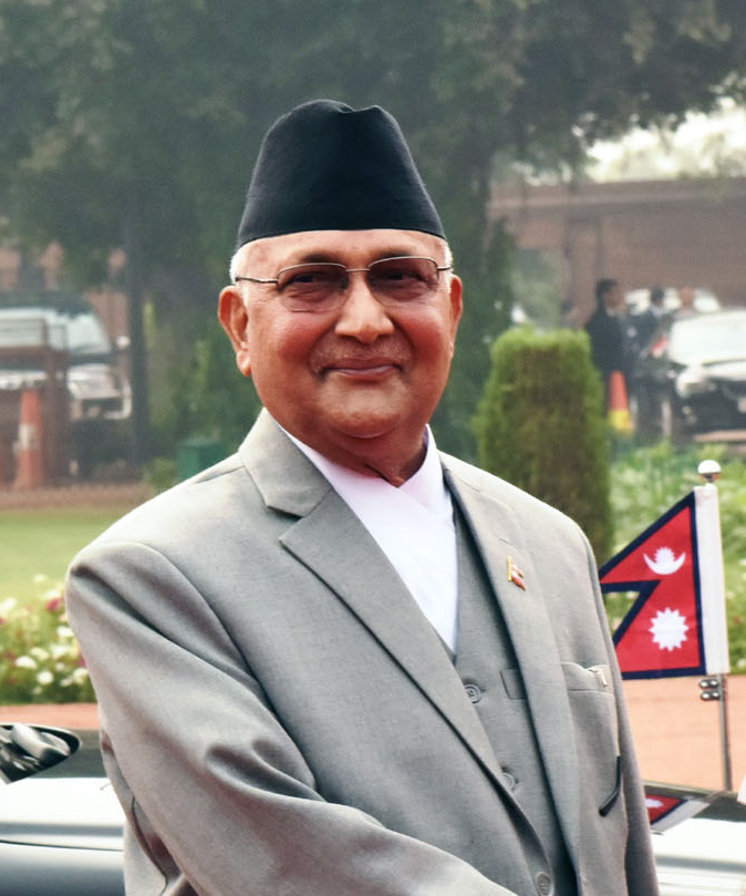 No denial was issued from Nepal prime minister K.P. Sharma Oli's handle