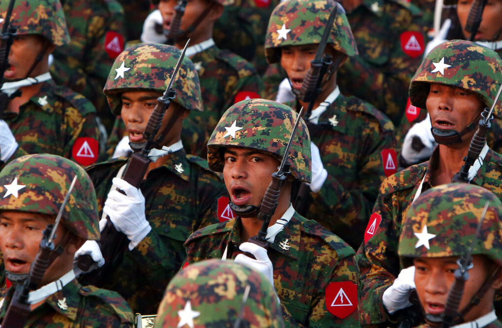 Myanmar's army is increasingly turning to India for training and weapons - Telegraph India