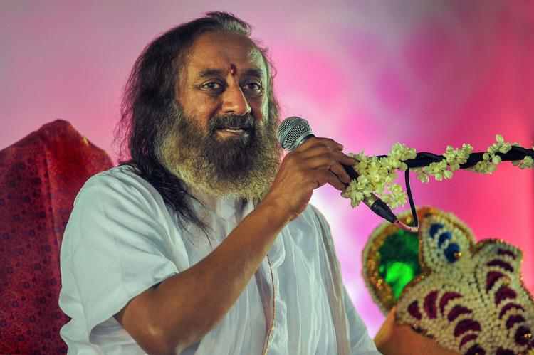 Art of Living founder Sri Sri Ravi Shankar at Ananda Anubhavam, Chennai, on December 8