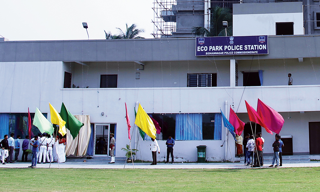 The Eco Park police station