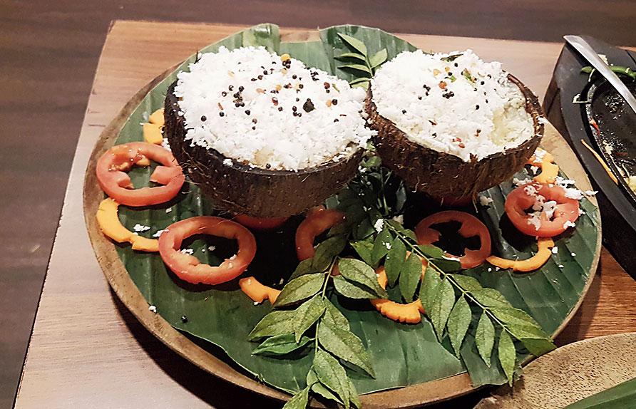 A Tandoori Tiranga Idli platter.