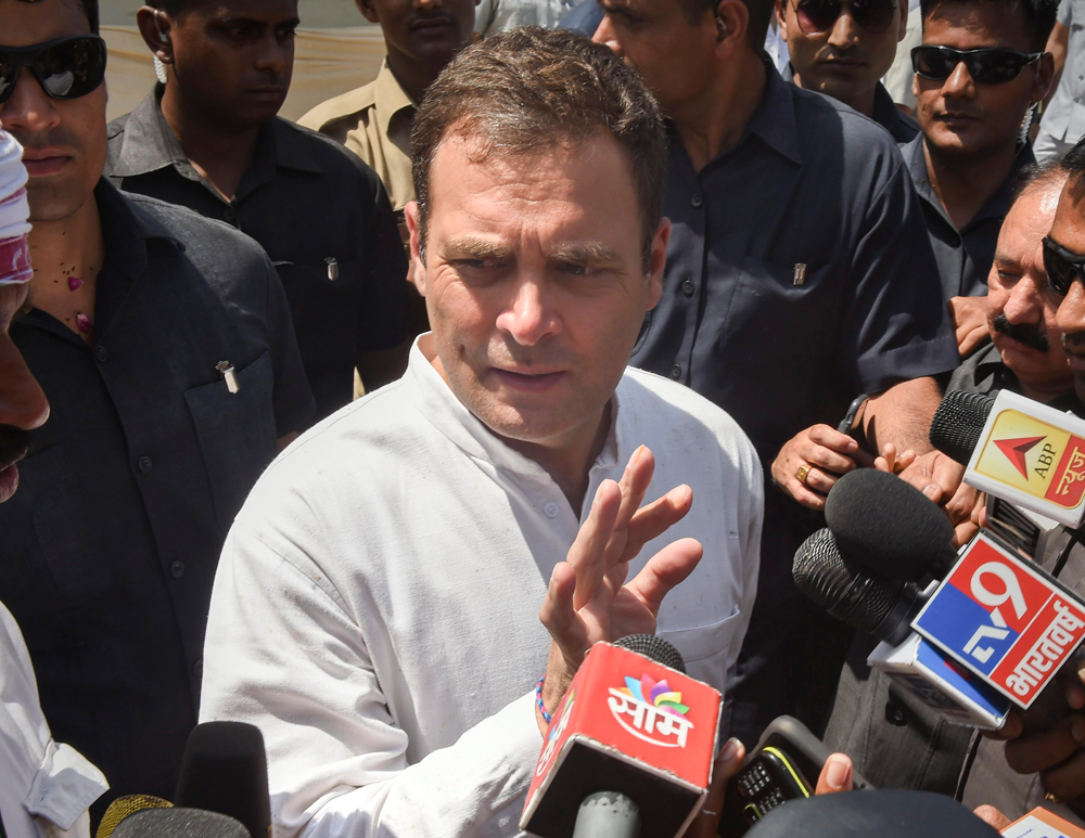 Supreme Court has `accepted' there was corruption in Rafale deal: Rahul Gandhi