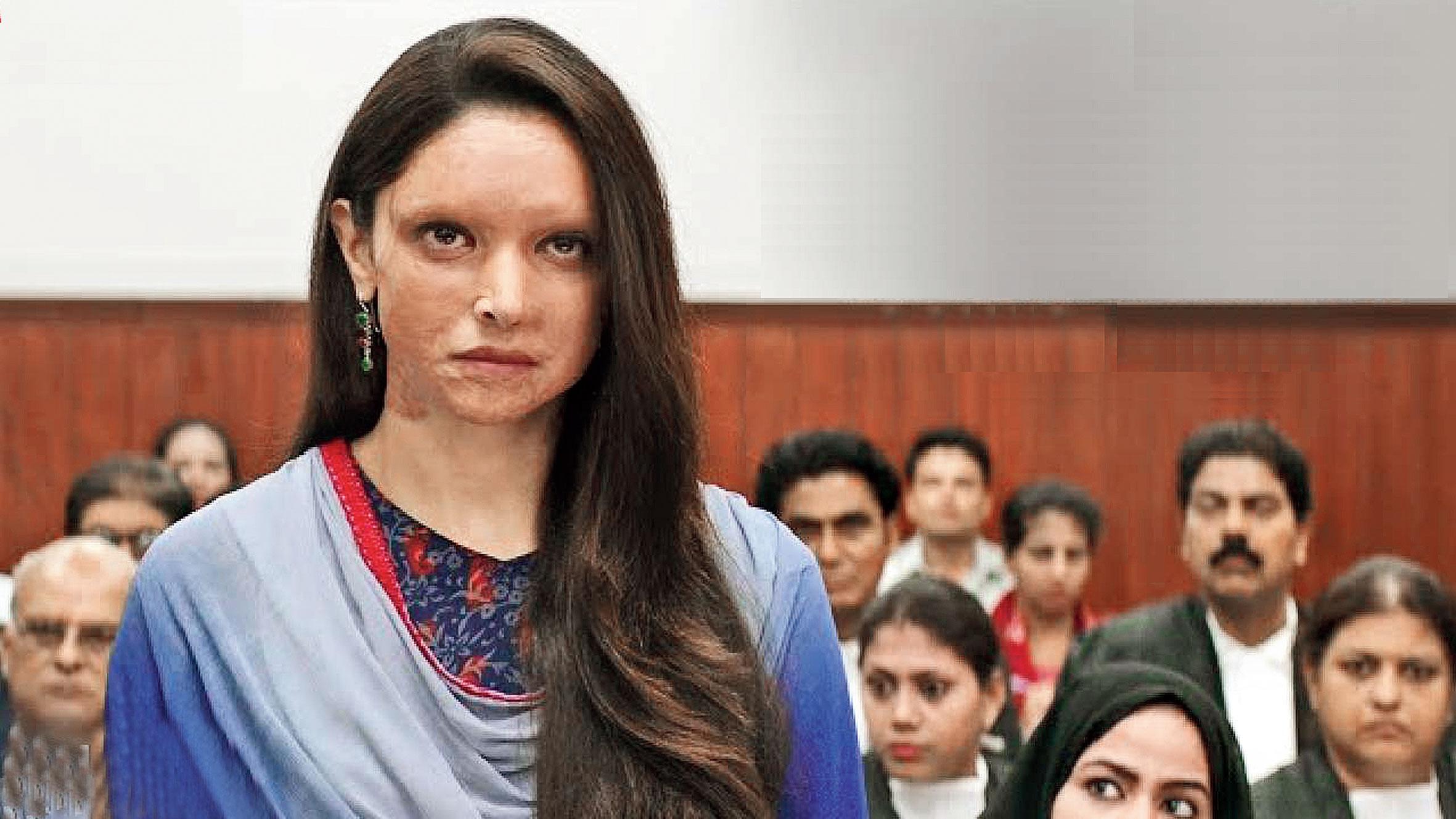 Deepika Padukone as Malti in Chhapaak