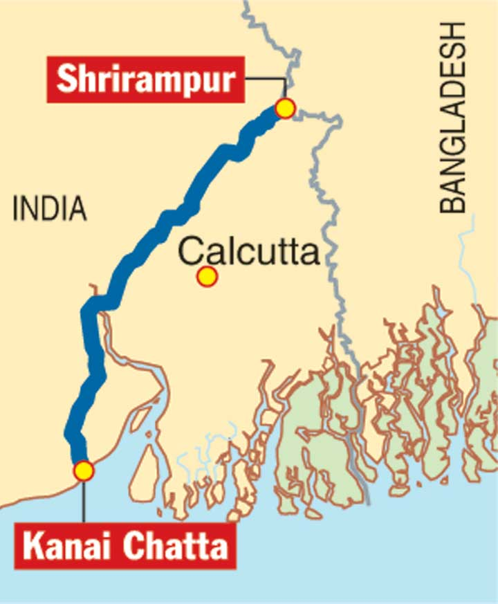 The regasification unit will be connected by a 115km underwater pipeline to Kanai Chatta, to be commissioned by March 2021.