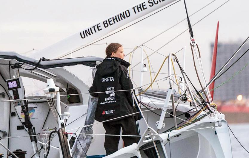 Greta Thunberg: The girl on a boat