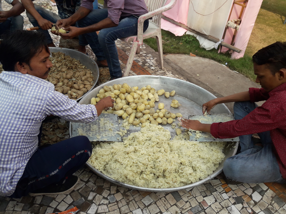 After the force sent logistics and cooks for the meals to be prepared for the wedding parties at their location in Desaiganj, the security personnel were approached by others living in the vicinity for the same help as they were not able to purchase ration for preparing two square meals a day