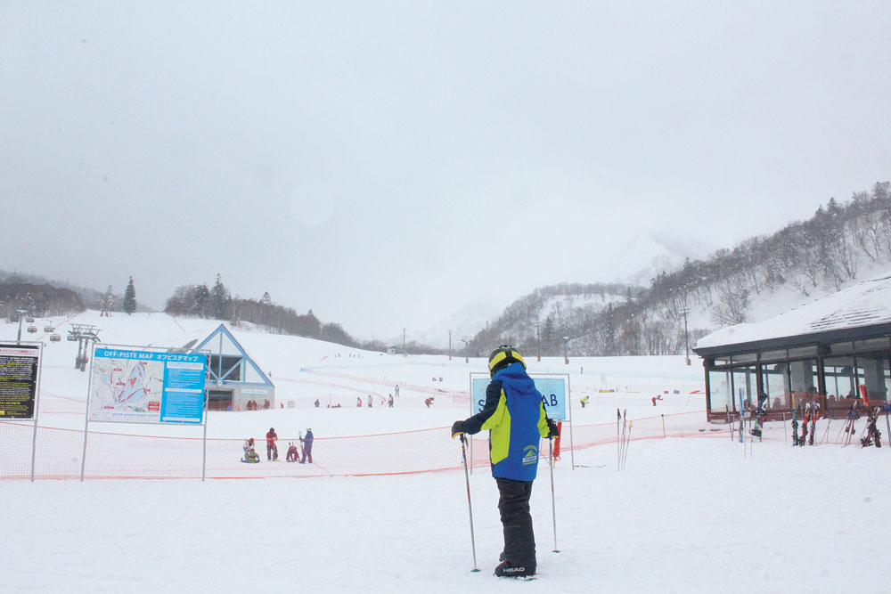 Skiing is a popular sport in Japan and Hokkaido is a paradise for winter sports because of the powdery texture of the snow
