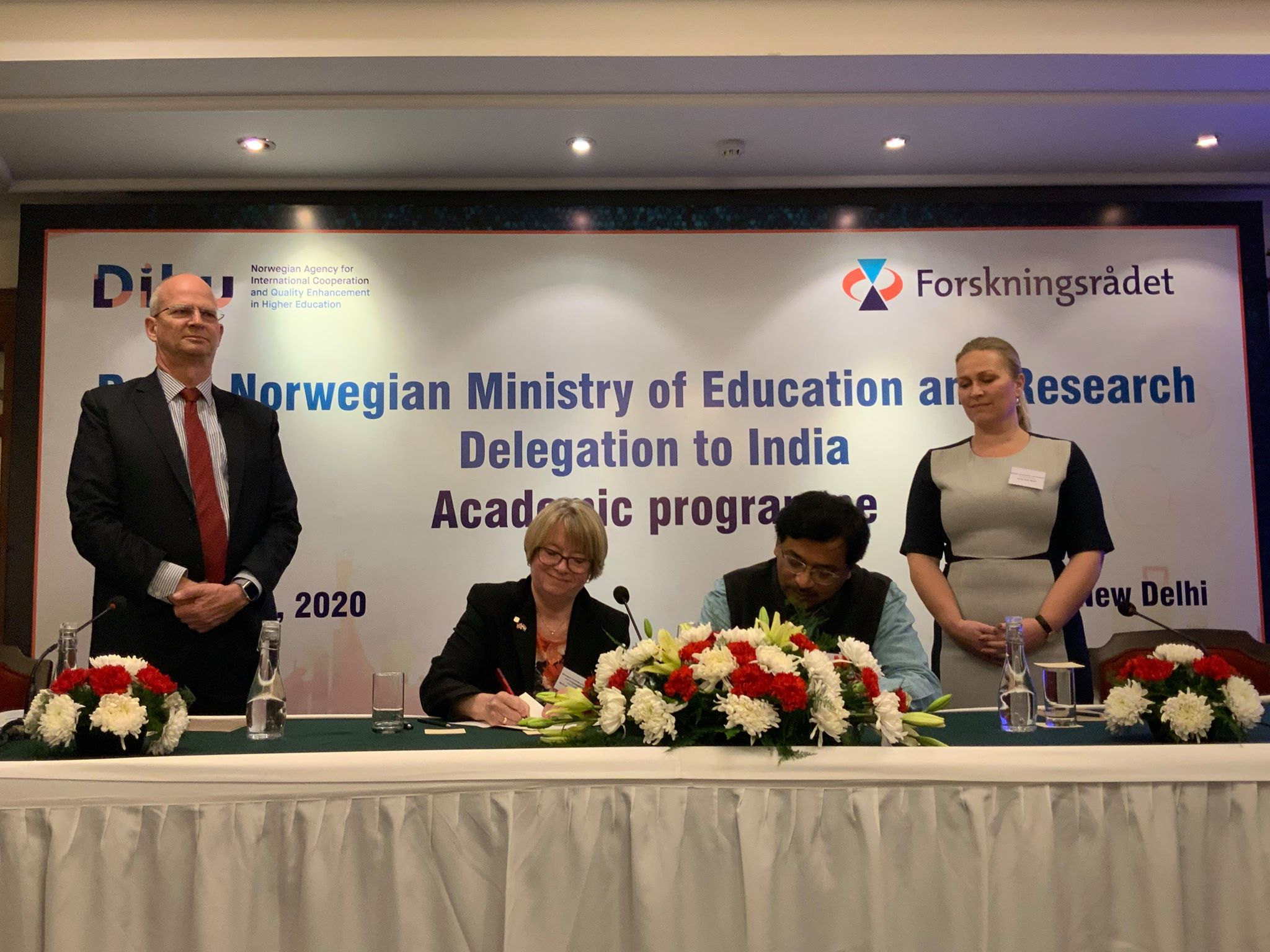 The agreements were signed in New Delhi during the visit of a delegation of prominent education and research institutions from Norway led by Anne Line Wold, director-general, Norwegian ministry of education and research.