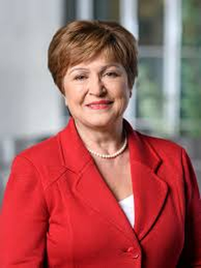 Kristalina Georgieva, IMF's managing director