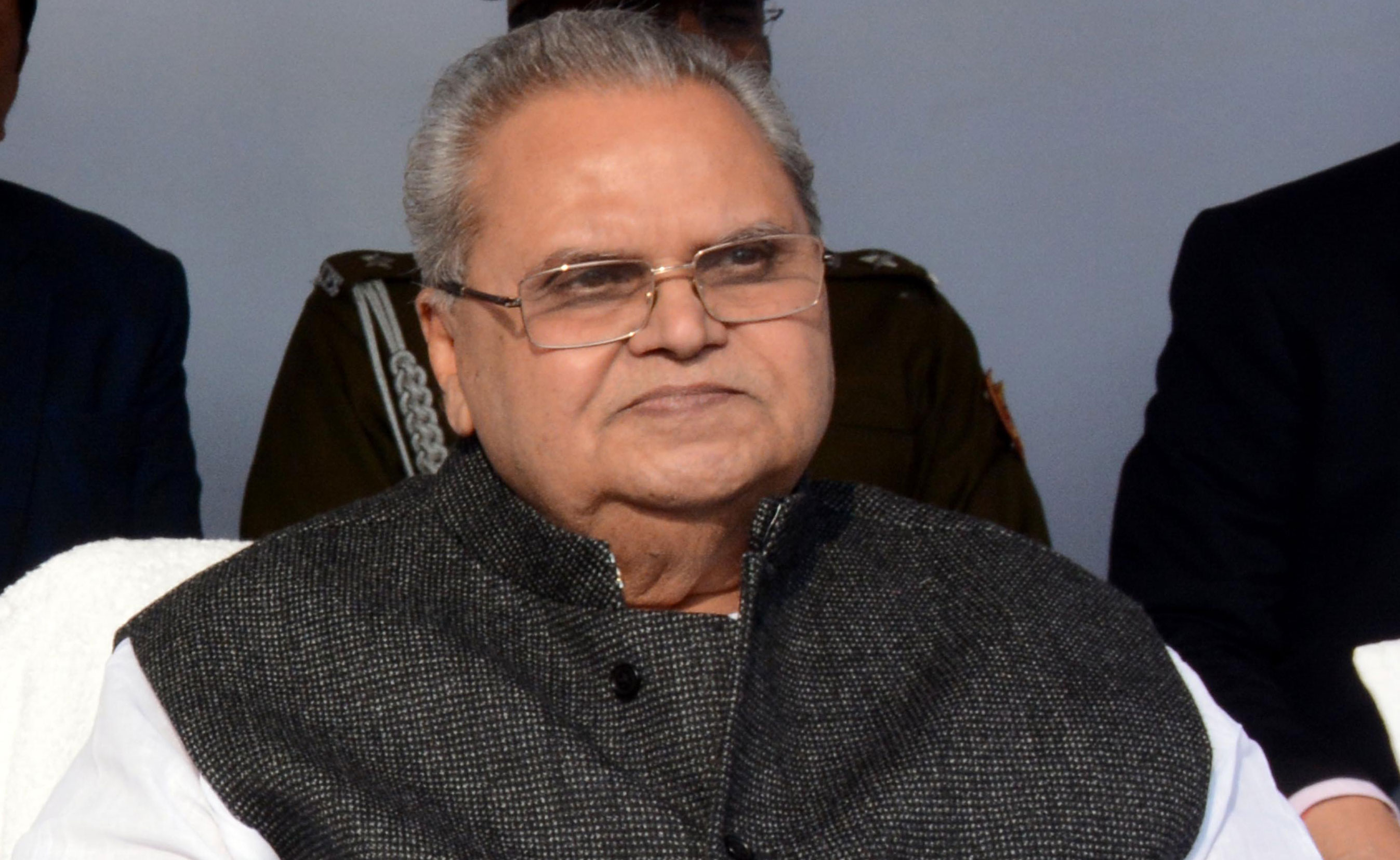 "A day after Satya Pal Malik (in picture) accused Rahul of speaking ""irresponsibly"" for challenging the government's ""all-is-well"" narrative, the Congress leader accepted Malik's invite."