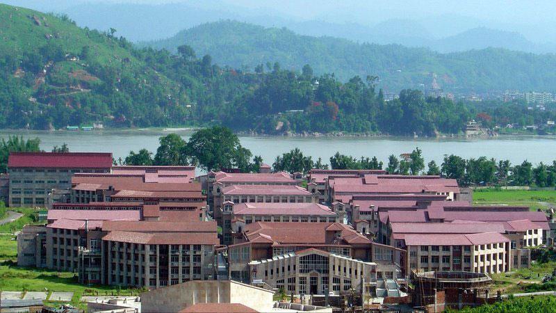 IIT Guwahati Academic Complex.