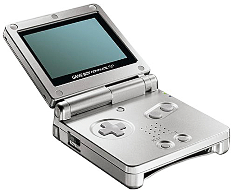 Released in 2003, Game Boy Advance SP quickly gained popularity owing to its unique clamshell design and a screen brighter than that of the original GBA