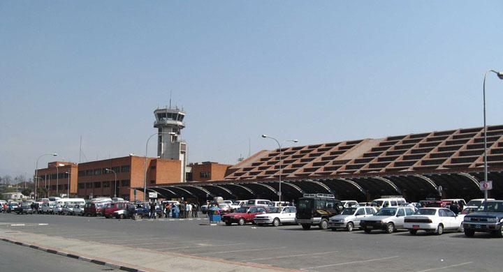 Kathmandu's Tribhuwan International Airport