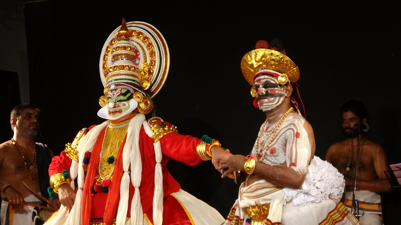 It took 10 years for King Lear in Kathakali to come to India