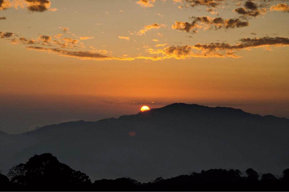 Sunrise at Khirsu