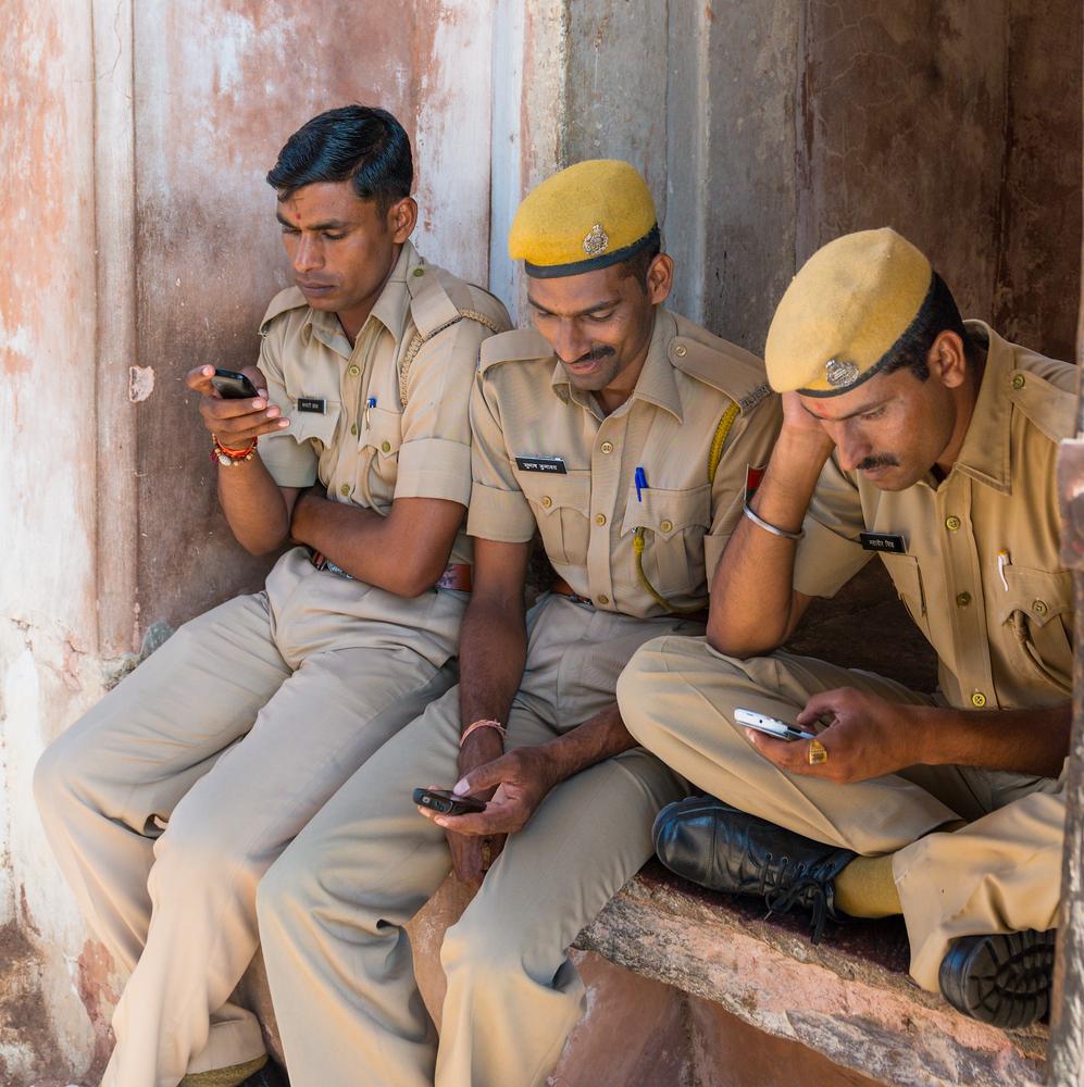 Representational image: No more WhatsApp at work for Tamil,Nadu cops.