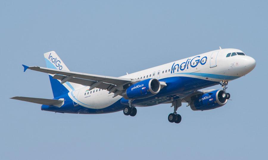 The IndiGo flight was carrying 121 passengers