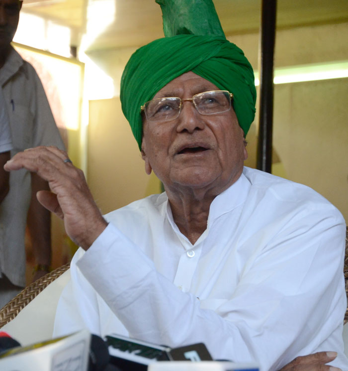 Om Prakash Chautala used to release criminals and dacoits before the election to terrorize opponents.