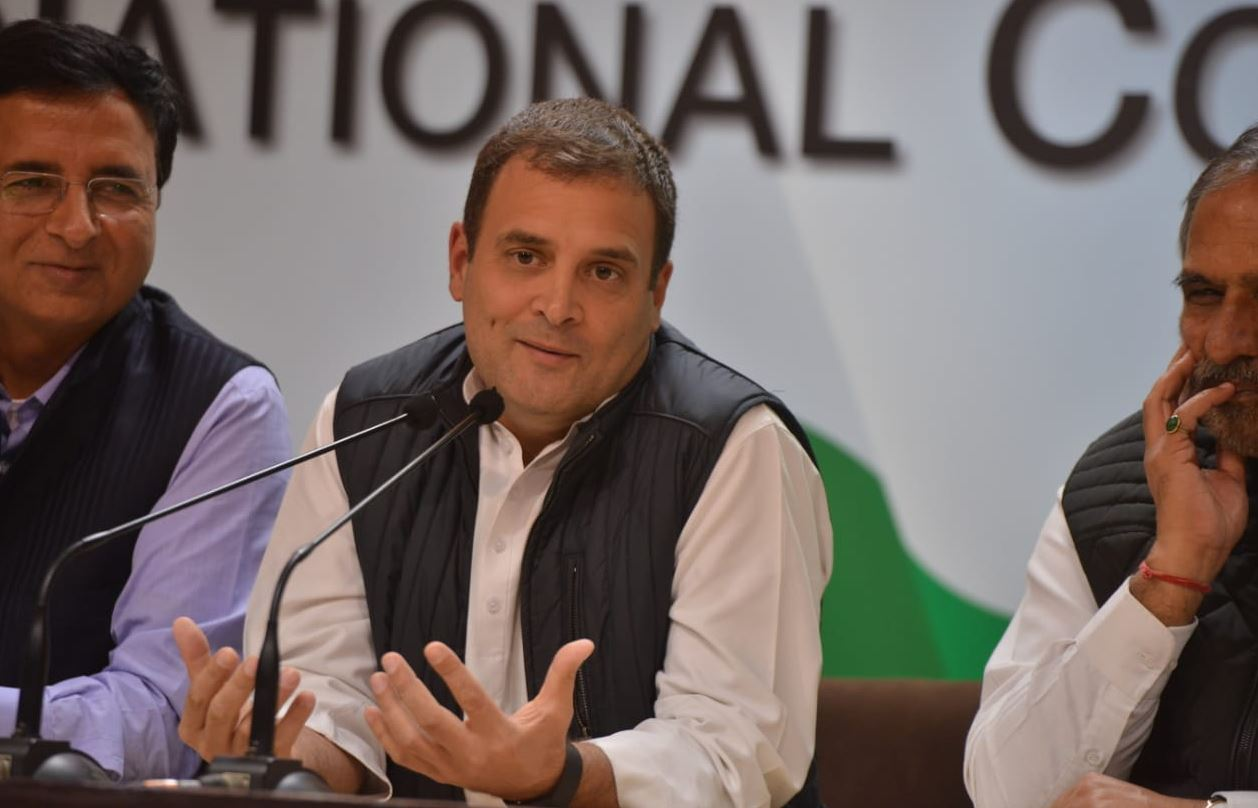 Rahul reads message for PM: Discontent