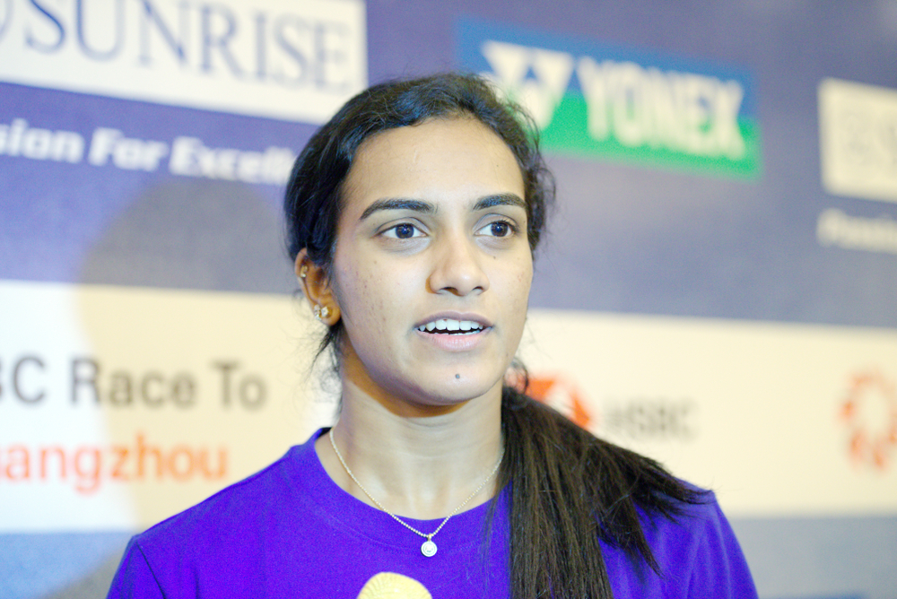 P. V. Sindhu (file picture, March 2019): hard work, rigorous training, and an inspiring victory