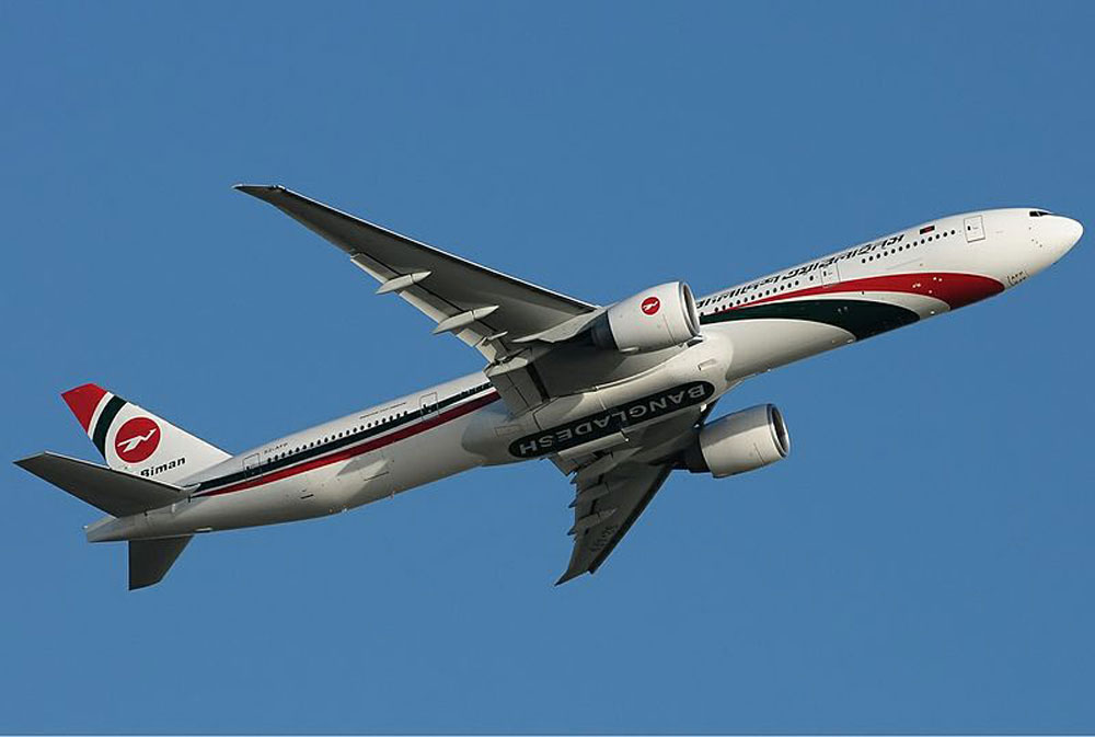 The incident took place on Biman Bangladesh Airlines flight to Dubai from Bangladesh
