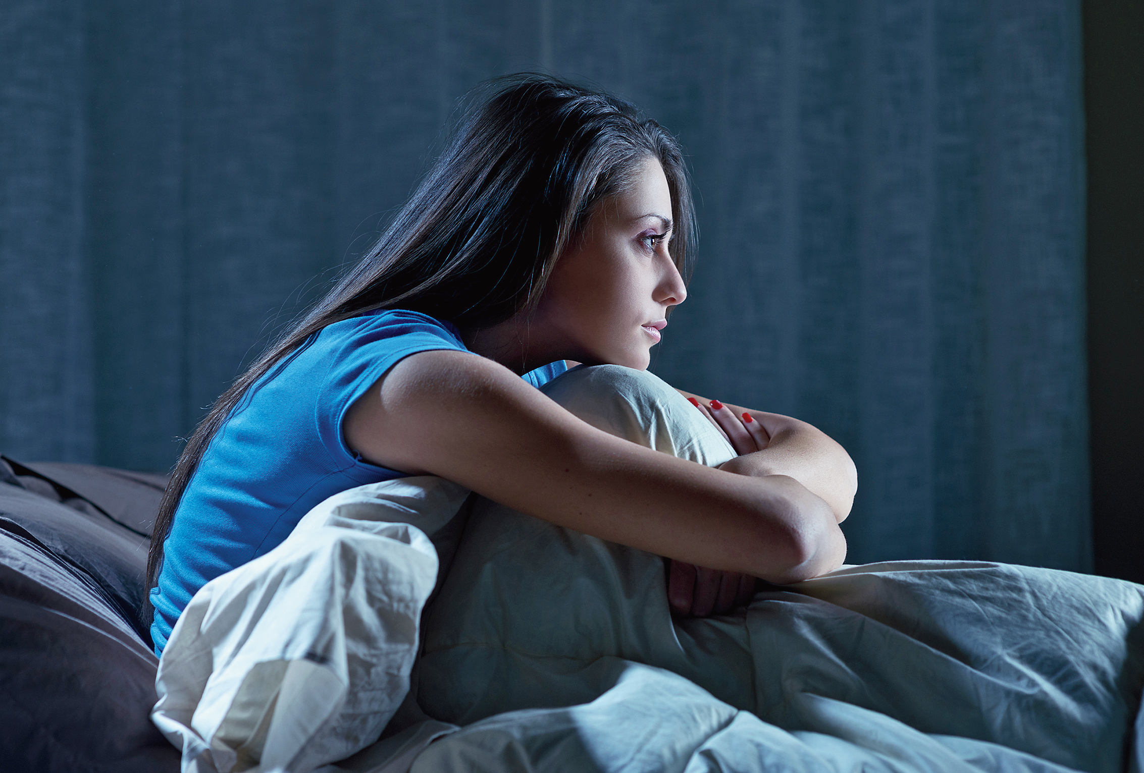 You may have inherited your insomnia