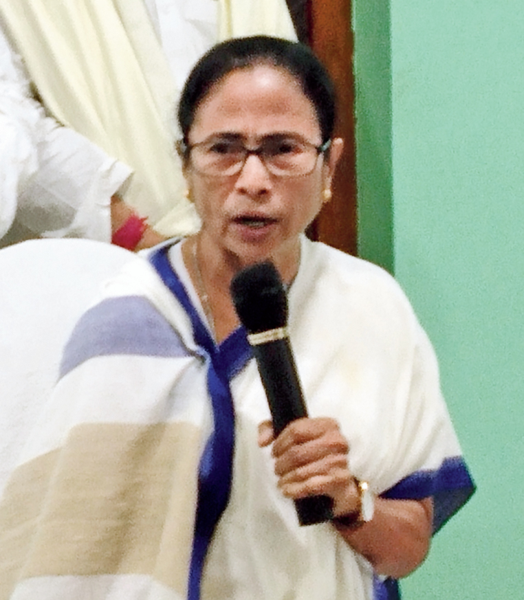 Mamata in Digha on Friday.