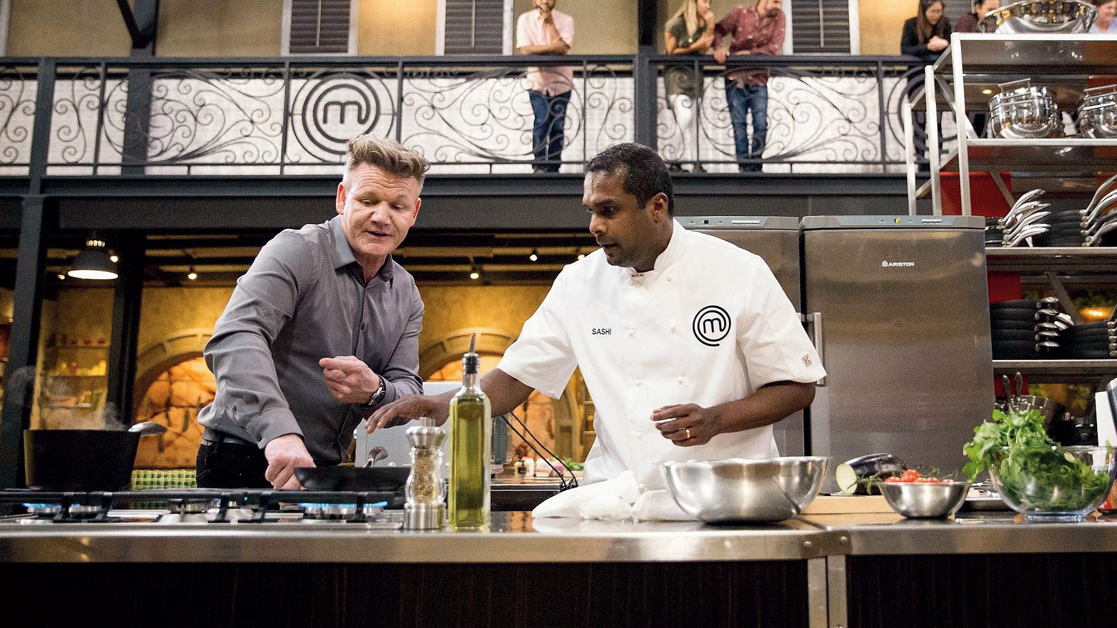 With Gordon Ramsay on the show