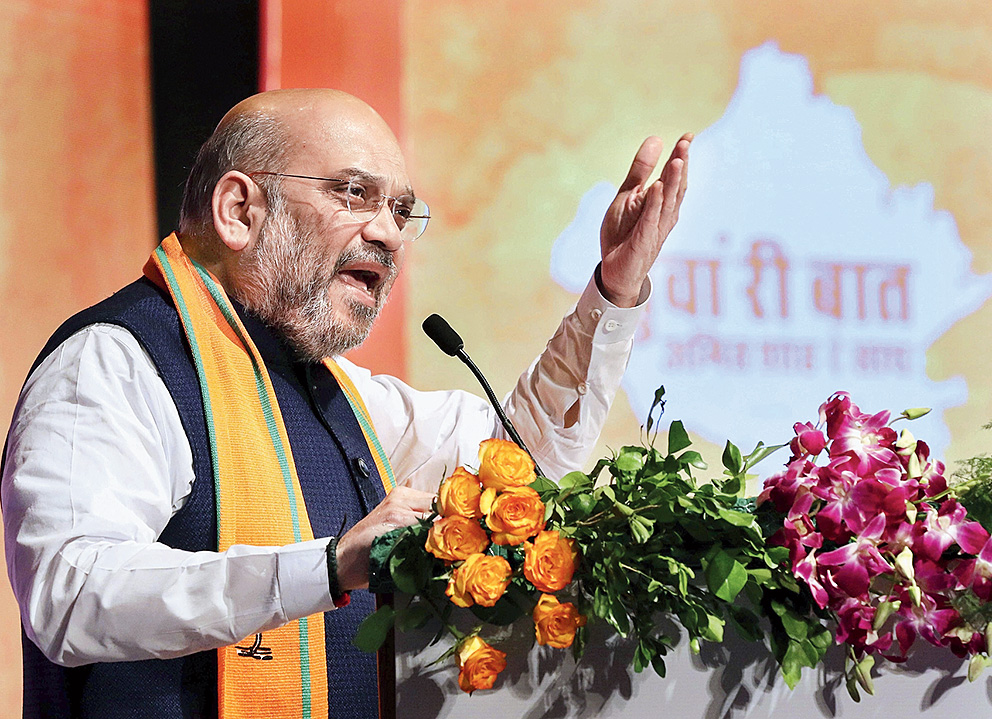 Won't yield even an inch on Ayodhya: Amit Shah