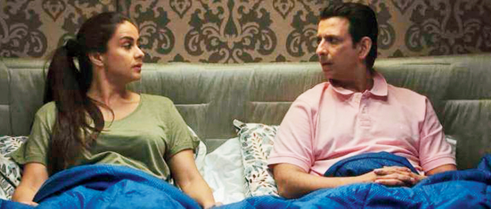 In Pawan & Pooja, Gul Panag and Sharman Joshi play a couple who have lost the spark of love