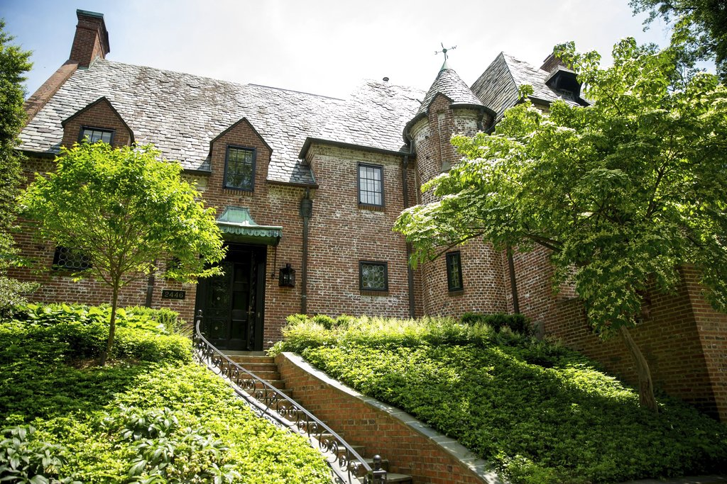 This May 25, 2016, file photo shows the home of former President Barack Obama and first lady Michelle Obama in Washington.