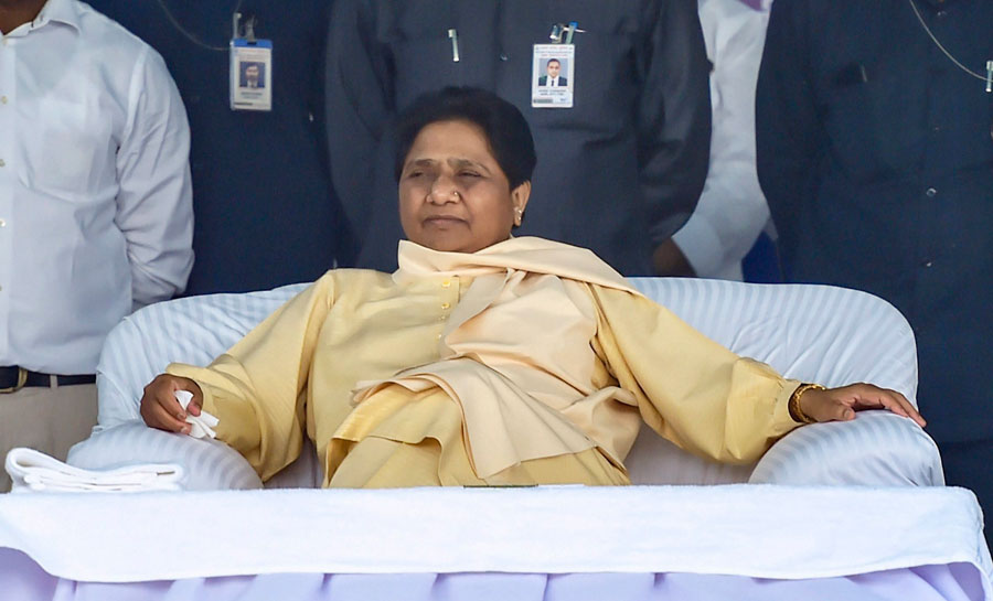"Bahujan Samaj Party chief Mayawati said her party accepts the challenge and is ready to debate ""at any forum and at any place."""