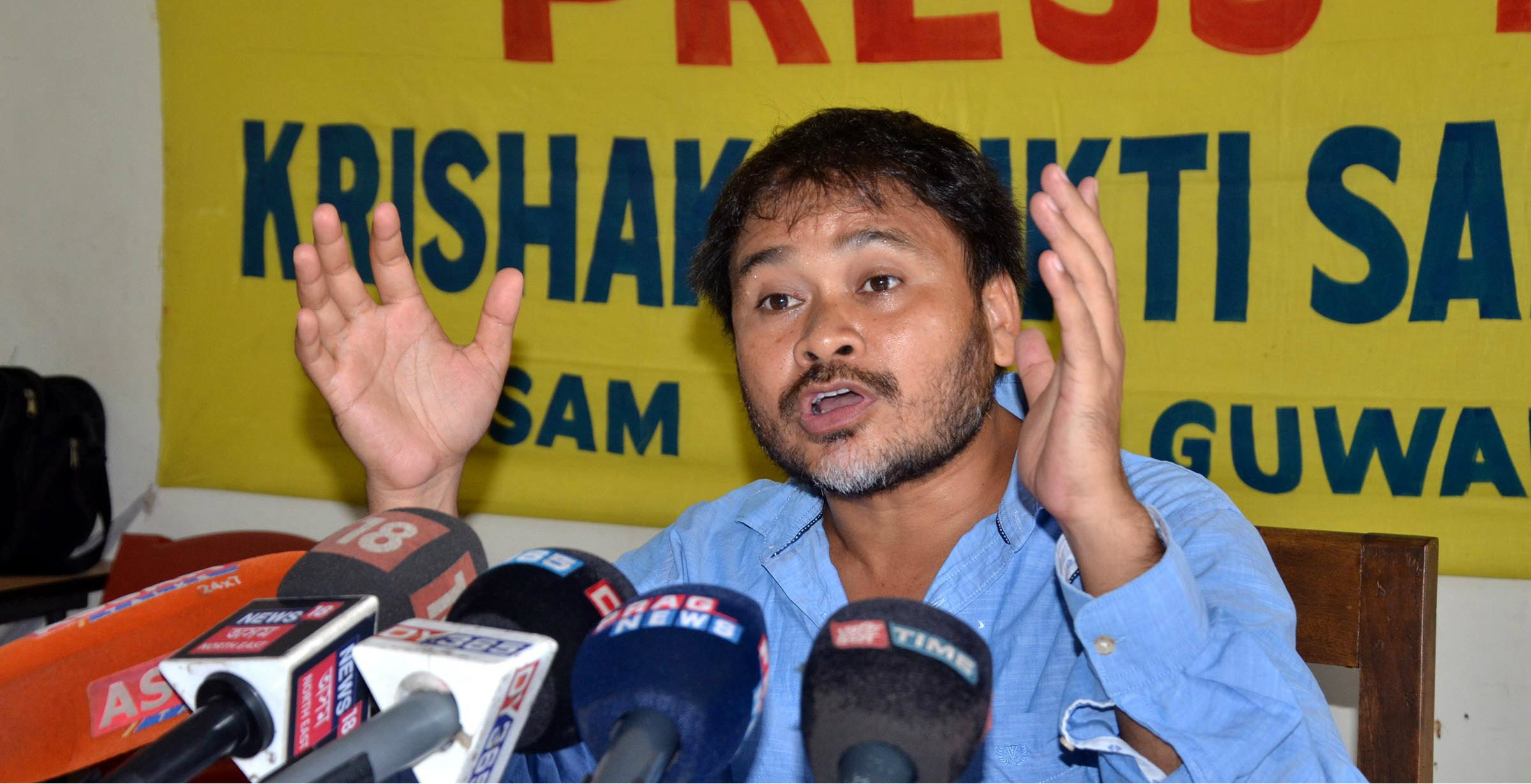 Akhil Gogoi is part of a civil society group called 'Nagarik Samaj', which is protesting against the bill.