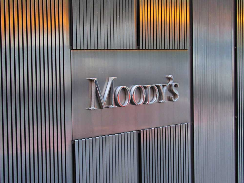 In a report on the Asia Pacific region, Moody's said while policy stimulus will shore up credit quality for larger companies in certain sectors, including airline and oil and gas, Asia's banking sector profitability will also decline from deteriorating asset quality and lower net interest margins.