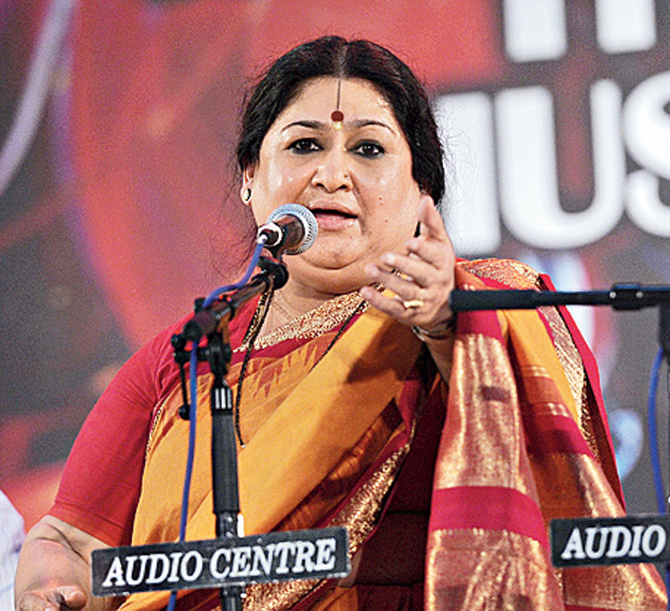 Shubha Mudgal's satire is a double-edged sword and she does not spare the music industry and our taste in music