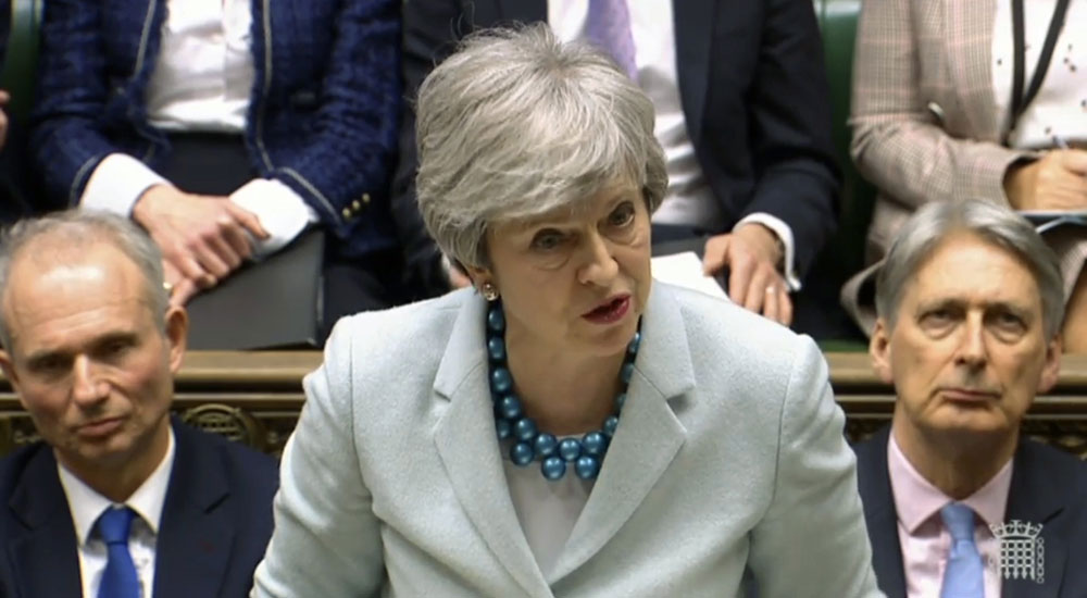 Brexit deal lacks support in Parliament: UK PM