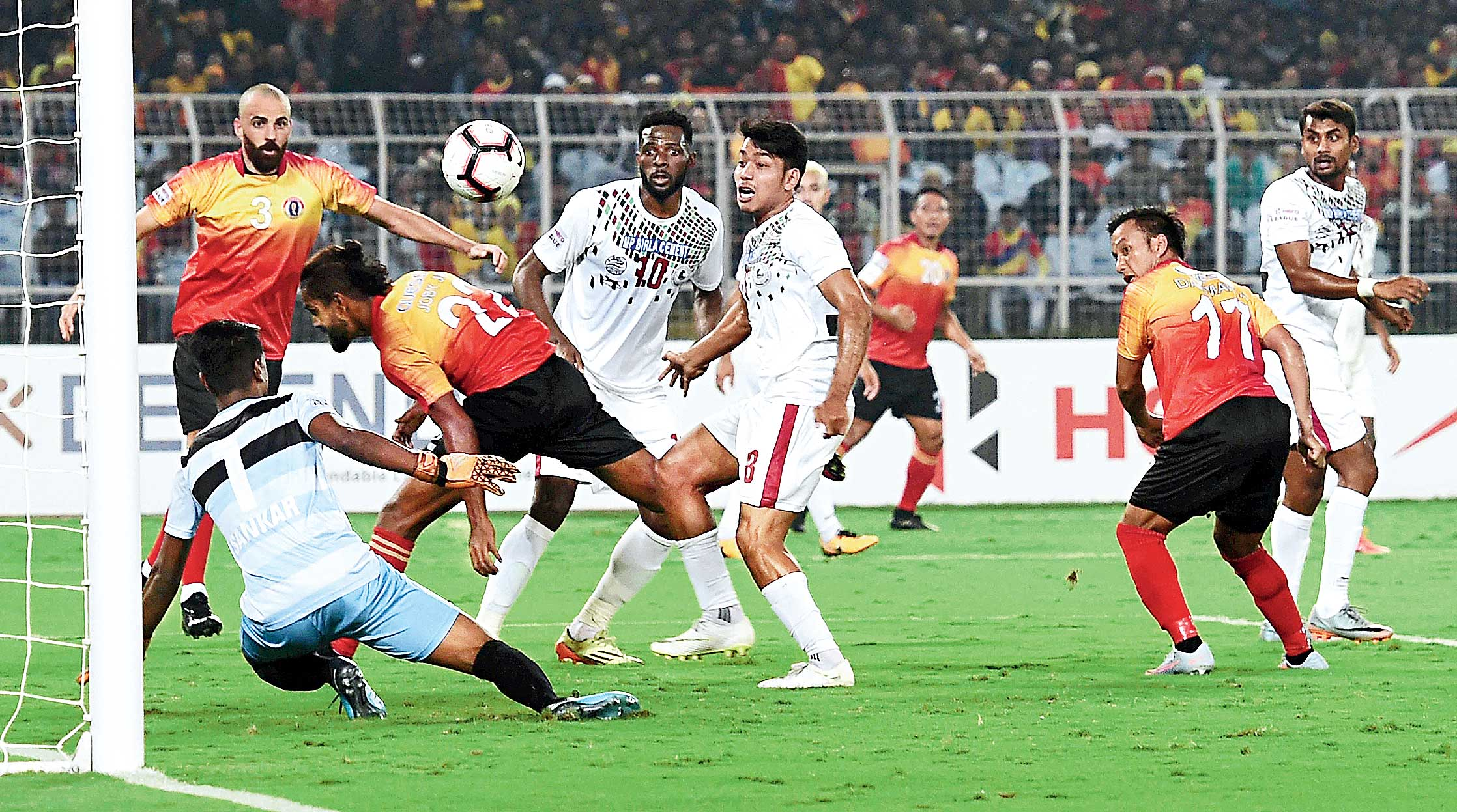 The Yuvabharati crowd might not witness these scenes in the return leg of the I-league derby