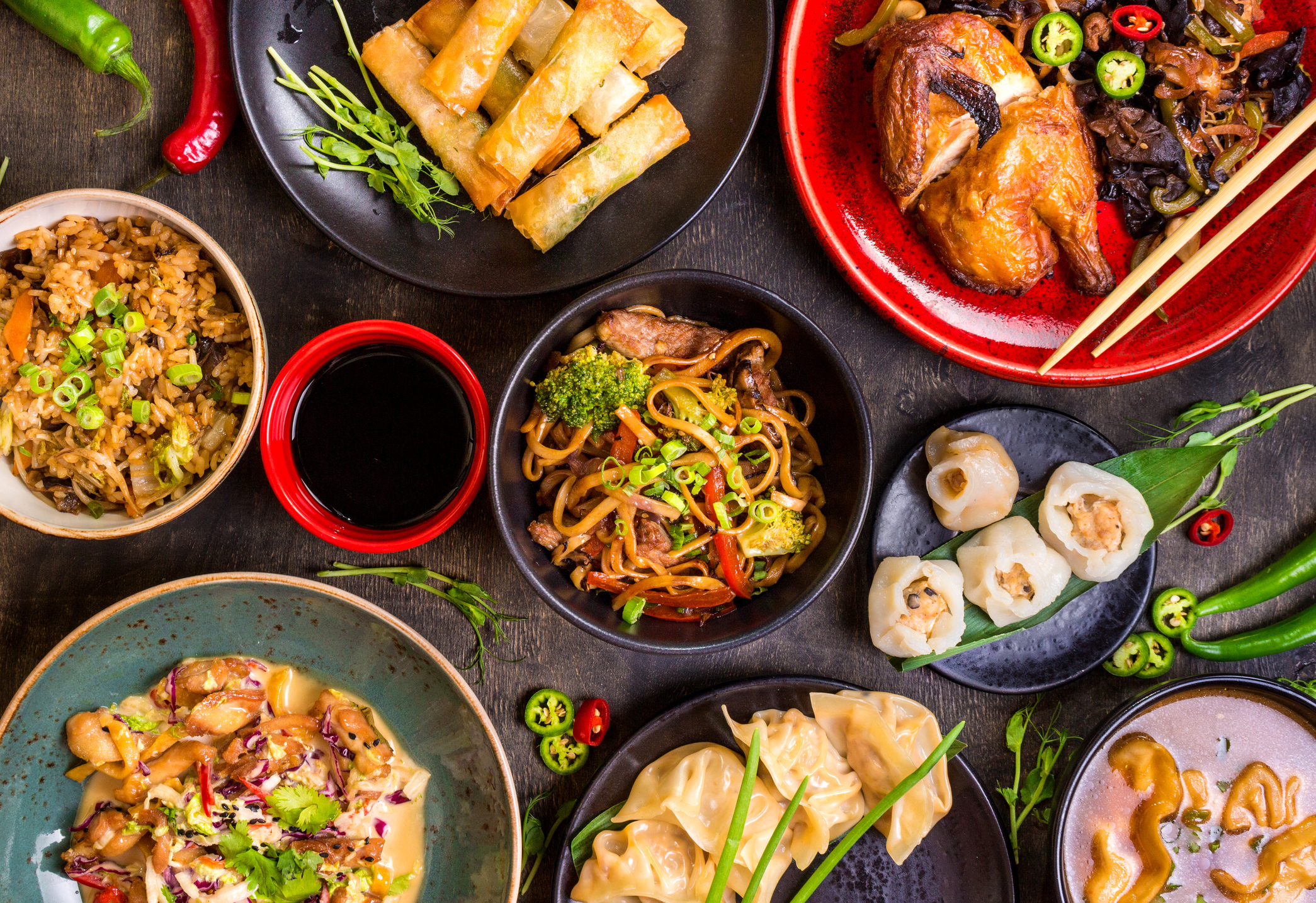 For the Chinese the most important meal of the year is the New Year's Eve reunion dinner. That's when all members of a family get together
