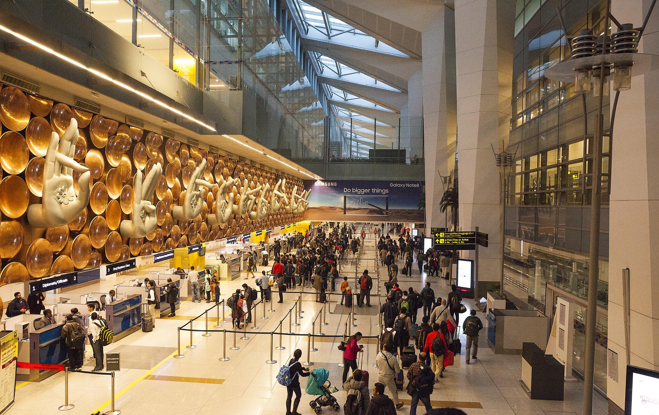 IGI airport Terminal 3.