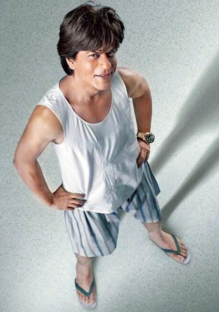 Shah Rukh Khan as Bauua Singh in Zero
