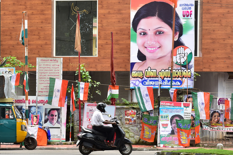 The ubiquitous presence of party symbols, larger-than-life portraits of political leaders and an indiscriminate occupation of streets and walls with political banners, slogans and posters reiterate the primacy of parties and leaders rather than people