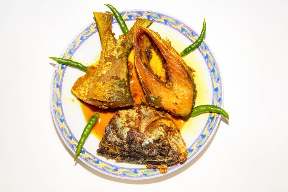A hilsa dish