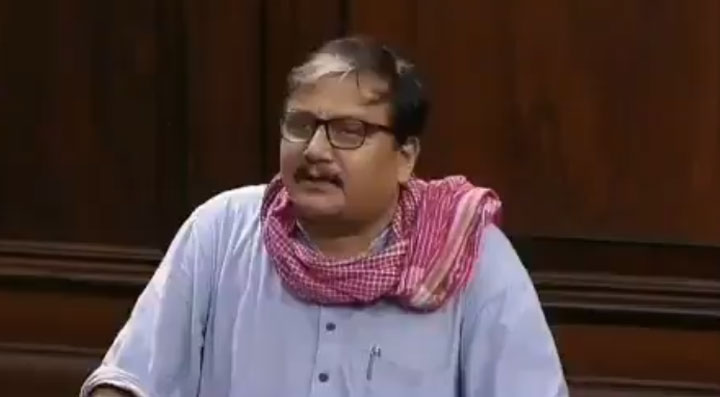 Manoj Jha, a professor of social work with Delhi University, was addressing teachers gathered in solidarity with 48 of their JNU colleagues who face disciplinary charges for going on strike last year against alleged rule violations in appointments and the withholding of salaries.