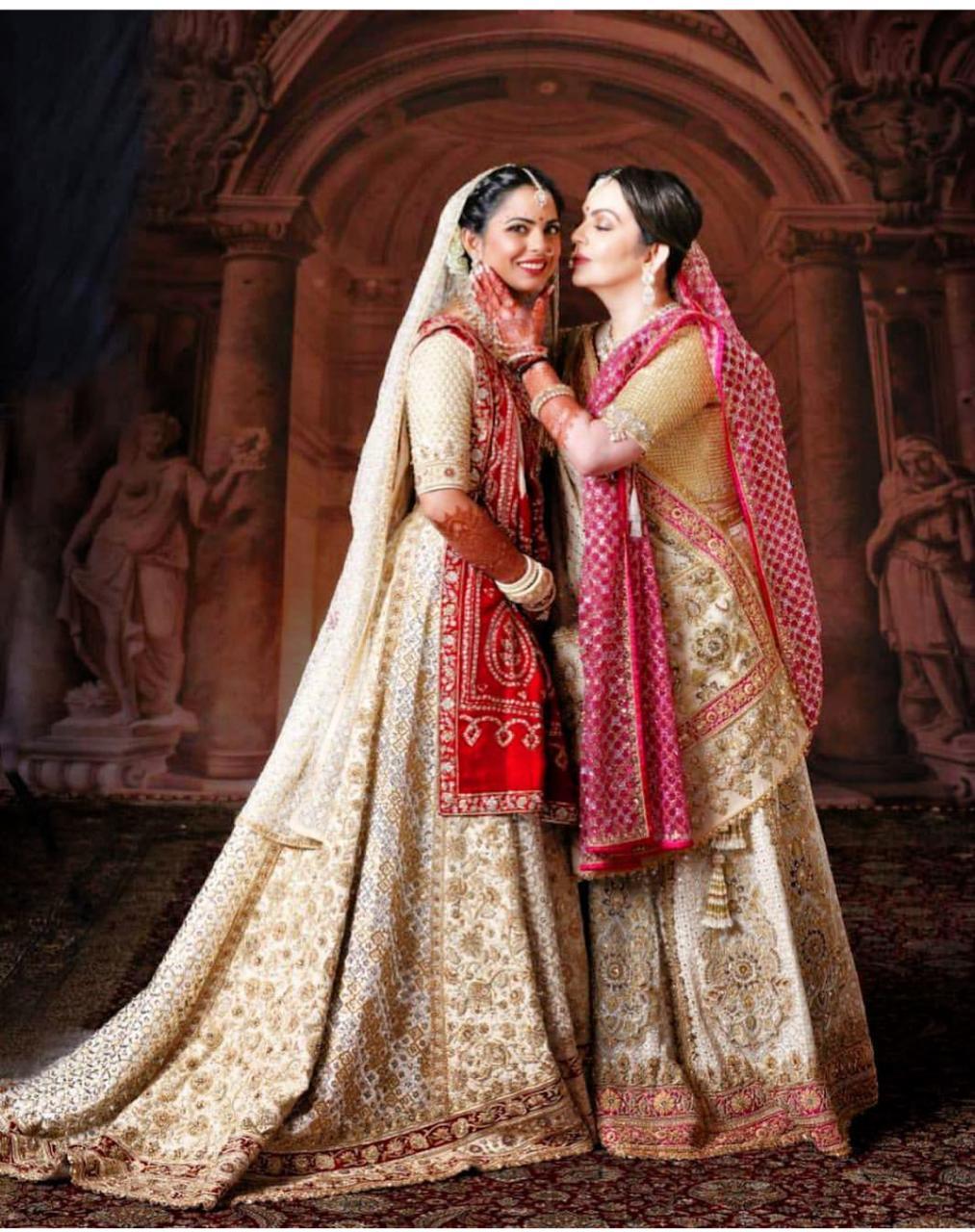 Isha Ambani Priyanka Chopra And Deepika Padukone 3 Brides