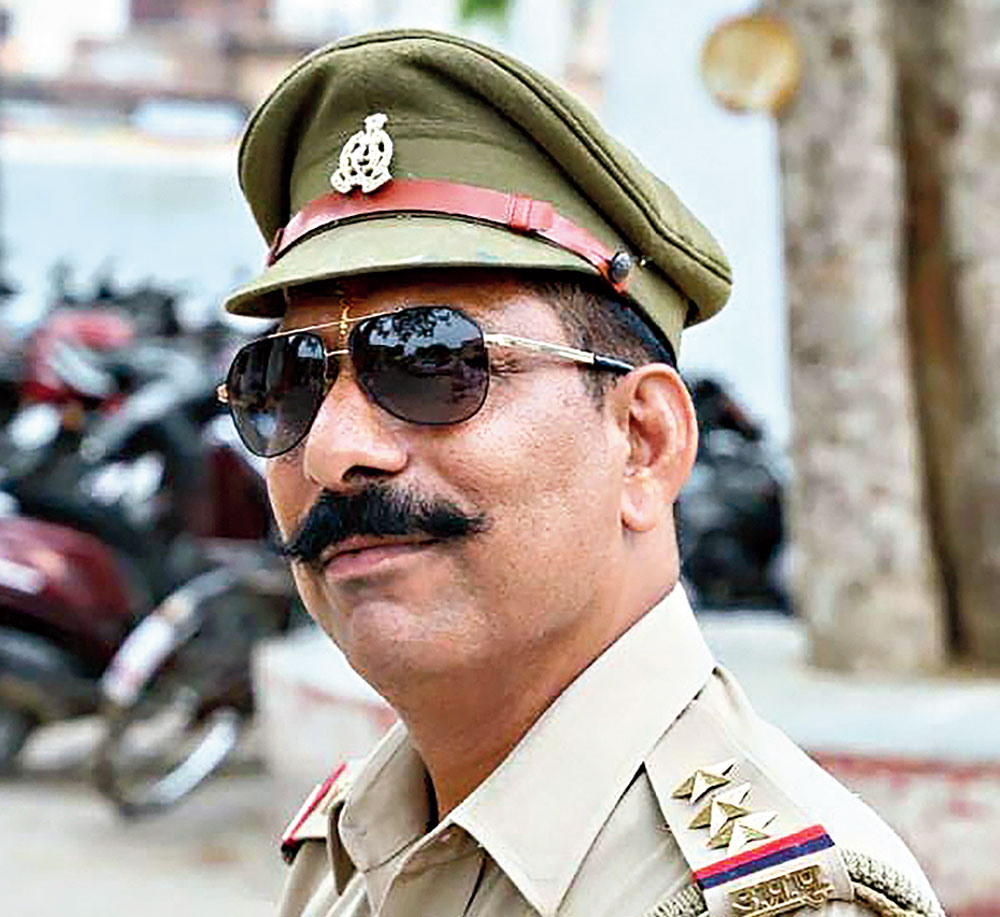 Inspector Subodh Kumar Singh, the officer who was killed by cow vandals in Bulandshahr, Uttar Pradesh, on December 3, 2018.
