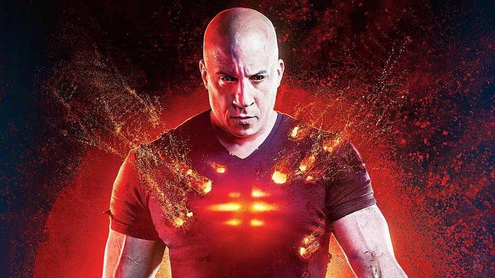 Vin Diesel in the movie
