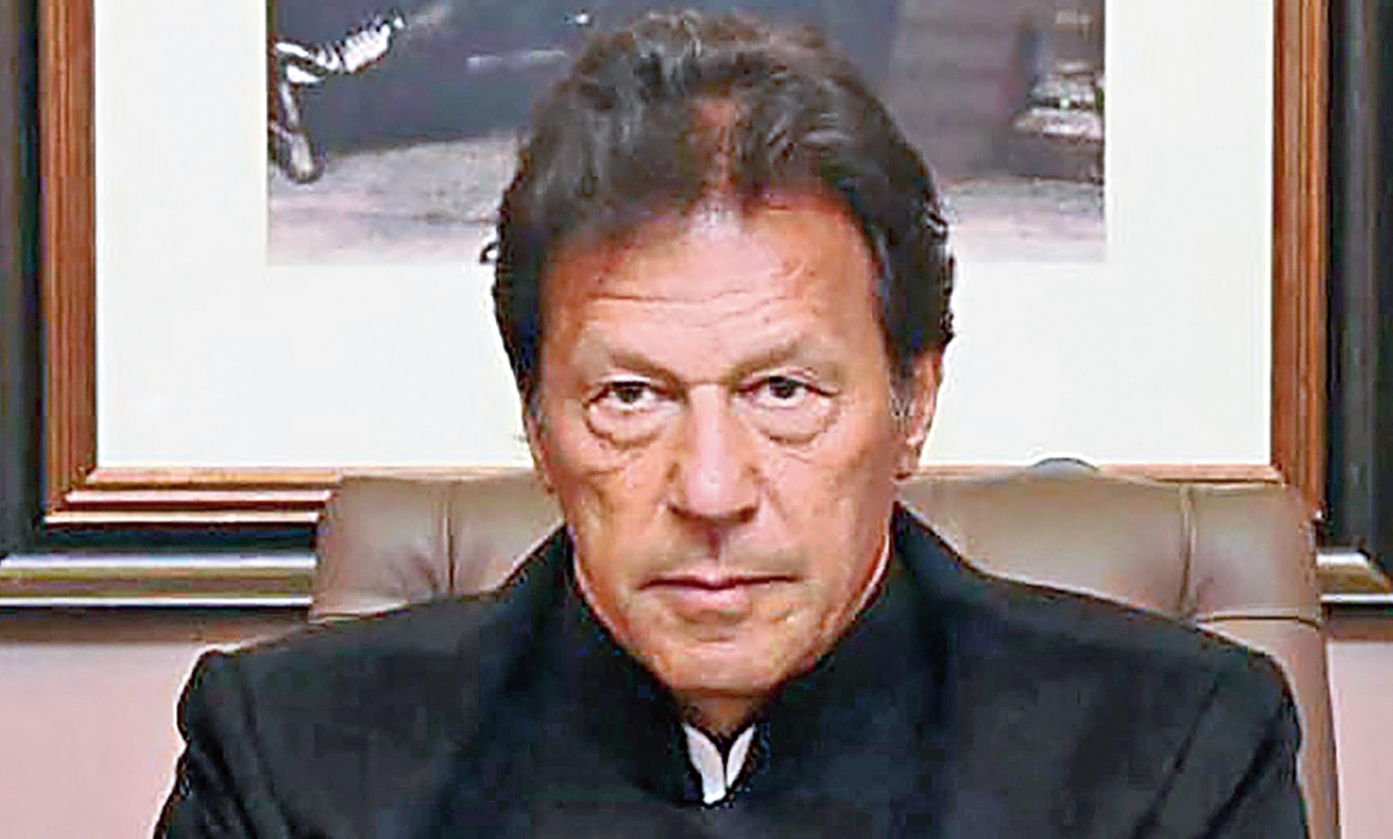 "Imran Khan has ""directed"" that ""all elements of national power, including the armed forces and the people"" remain prepared for ""all eventualities."""