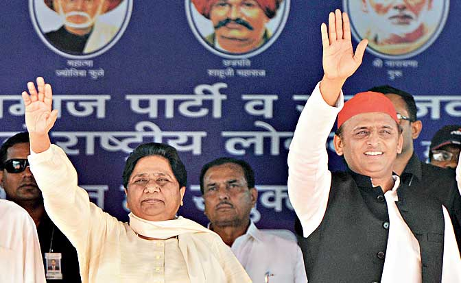 Mayawati music for BJP but bid for tactical voting