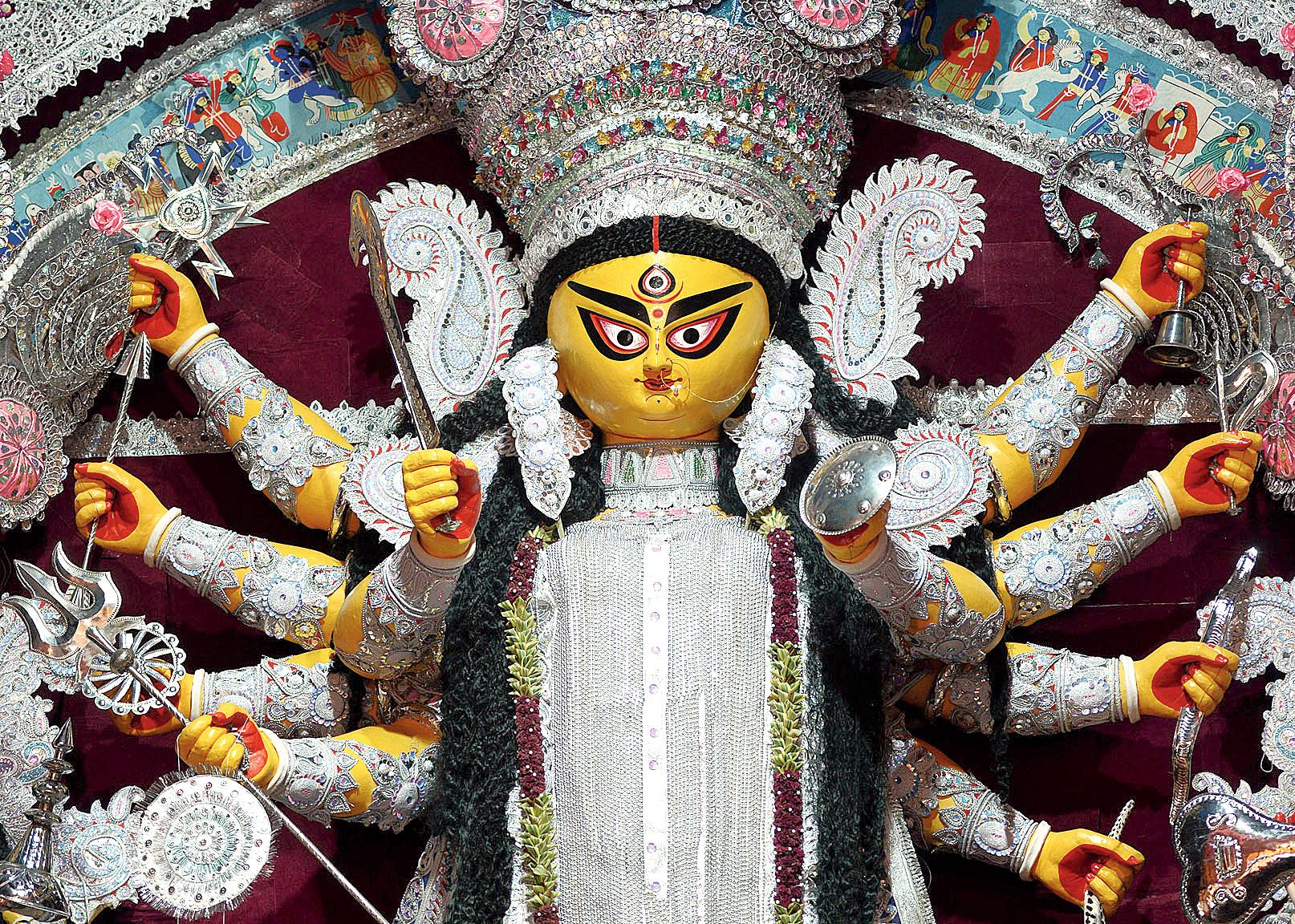 A Baghbazar idol.