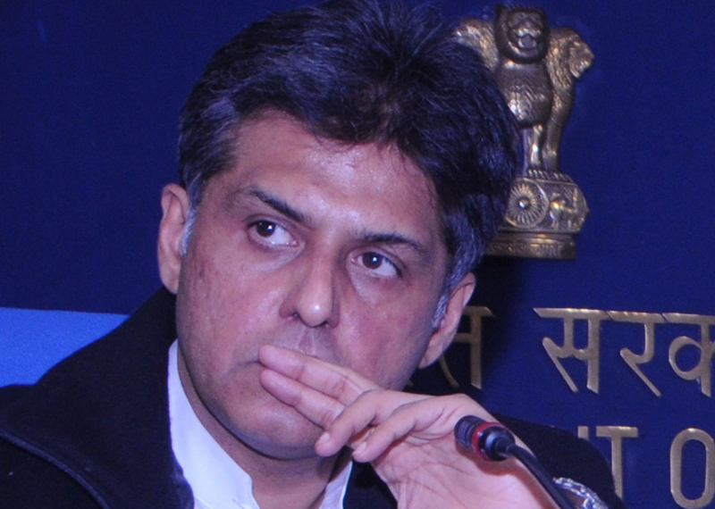 Congress spokesman Manish Tewari